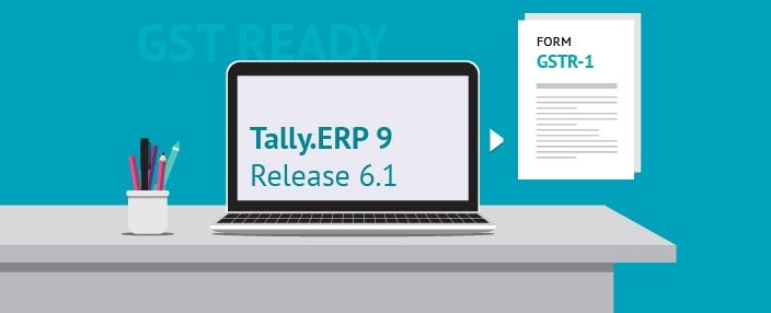 Filing GST Return (GSTR-1) with Tally ERP 9 Release 6 0