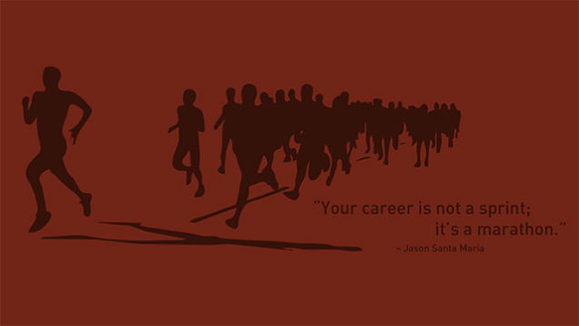 See Your Career as a Set of Stepping Stones, Not a Linear Path